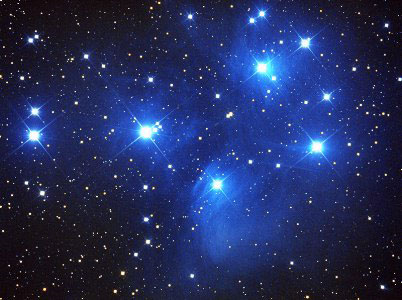 Constellation of the Pleiades
